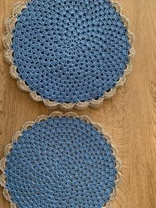 Used Crochet coasters ( set 4)  in Dubai, UAE