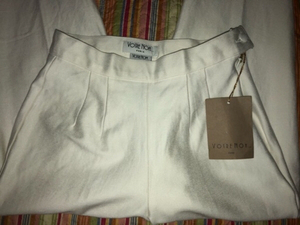 Used Votre Nom Paris Women's White Leggings  in Dubai, UAE