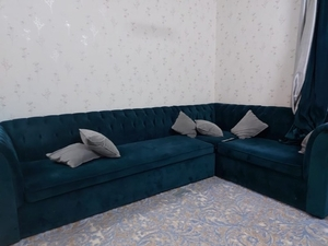 Used Sofa set and curtains  in Dubai, UAE