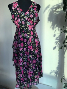 Used Floralar print lovely dress in Dubai, UAE