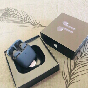 Used Black Color Airpod 2+ Free Case Cover  in Dubai, UAE
