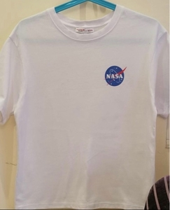 Used NASA plain white shirt NOT WORN!! in Dubai, UAE