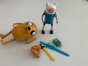 Used Minecraft & Adventure Time Toys Bundle in Dubai, UAE