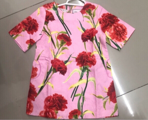 Used Pink floral kids dress /3-4 yr old ♥️ in Dubai, UAE