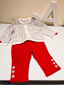 Used Baby girl set size 3-6 month new in Dubai, UAE