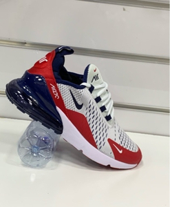 Used Nike Airmax 270 off white/red size 43,  in Dubai, UAE