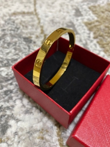 Used Cartier love Friendship bangle in Dubai, UAE