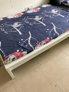 Used IKEA bed Queen size - 160 / 180 in Dubai, UAE