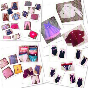 Used 54 pcs Girls Clothes 2-4 yr old BUNDLE♥️ in Dubai, UAE
