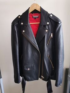Used Tommy Hilfiger leather jacket in Dubai, UAE