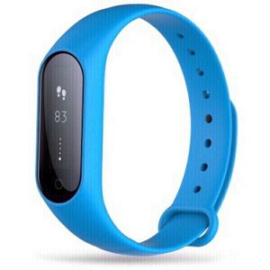 Used smart band with heart rate blue in Dubai, UAE