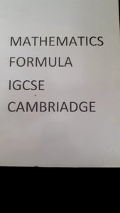 Used Maths igcse formula book in Dubai, UAE