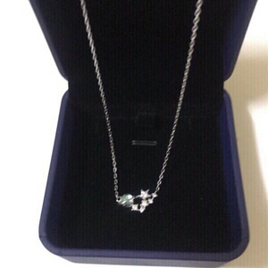 Used Necklace (blue star) new with box 📦  in Dubai, UAE