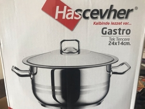 Used Stainless steel cooking pot in Dubai, UAE