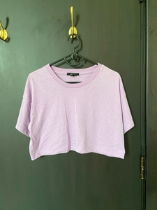 Used Forever 21 Purple Crop Top in Dubai, UAE