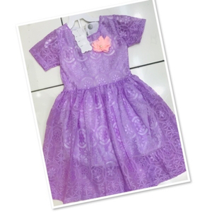 Used Kids Dress purple size 3/4 yr old ♥️ in Dubai, UAE