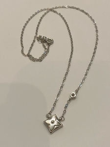 Used 925 slvr Louis Vuitton Diamond necklace in Dubai, UAE