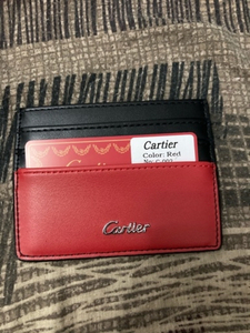 Used Cartier Card Holder Vibrant Red in Dubai, UAE