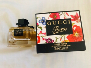 Used Gucci flora perfume, 75 ml for women  in Dubai, UAE