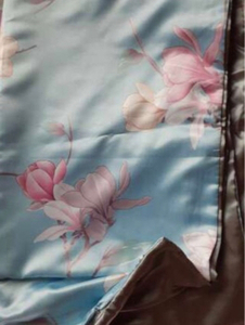 Used Flower print queen size 3 in 1 in Dubai, UAE
