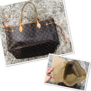 Used LV Neverfull MM from Japan 💙 in Dubai, UAE