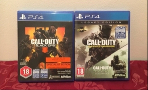 Used Call of Duty Games (PS4) in Dubai, UAE