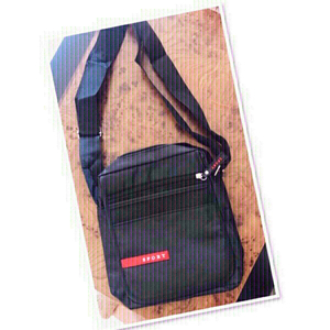 Used Black Sports Sling bag ♥️ in Dubai, UAE