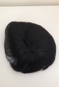 Used Mens hair wig black in Dubai, UAE