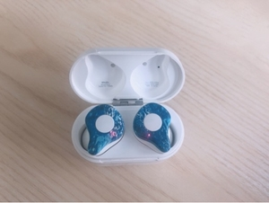 Used Waza earphone, with cable charger in Dubai, UAE
