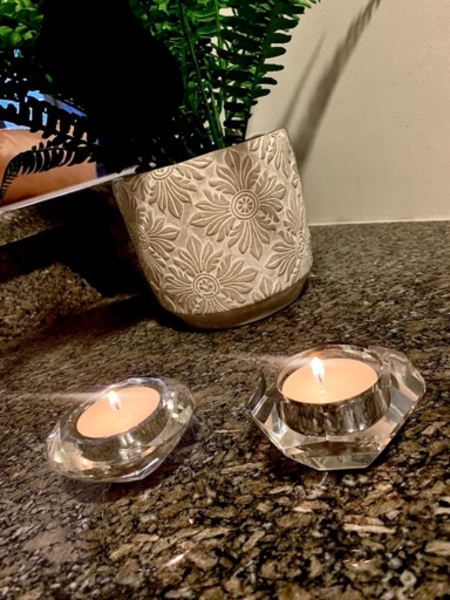 Used Glass tealight holders in Dubai, UAE