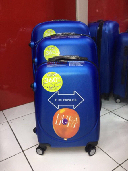3pcs trolley bag