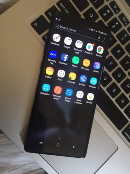 Used Samsung s8 + 64 GB as new condition dots in Dubai, UAE