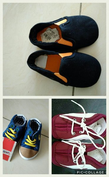 Used 3 baby shoes in Dubai, UAE