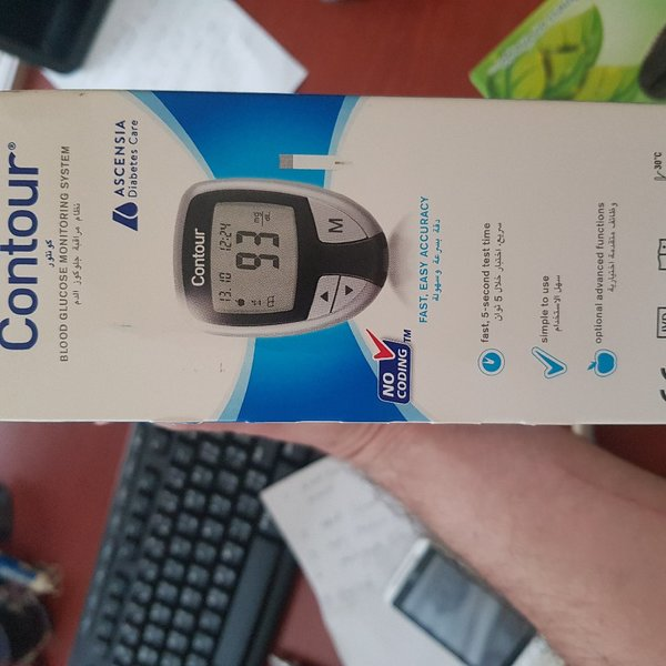 Used CONTOUR BLOOD GLUCOSE MONITOR SYS👍 in Dubai, UAE