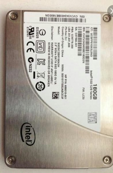 Used Ssd intel in Dubai, UAE