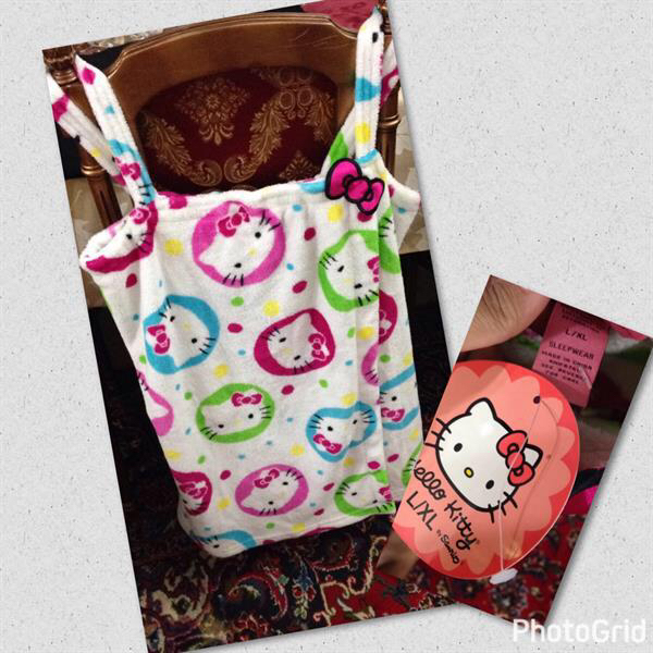Brand New Hello Kitty Sleep Wear For Sale Size L
