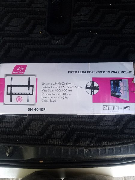 Used Wall mount for 25-65intch LED tv in Dubai, UAE