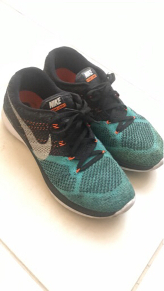 Used Nike flyknit US 10 size. in Dubai, UAE