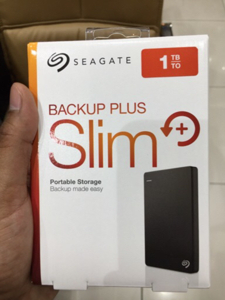 Used 1TB Seagate Slim External Drive USB 3.0 in Dubai, UAE