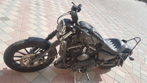 Used Mint condition sportster Harley Davidson in Dubai, UAE