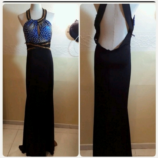 Used Brand new Backless Long Dress Elegant in Dubai, UAE