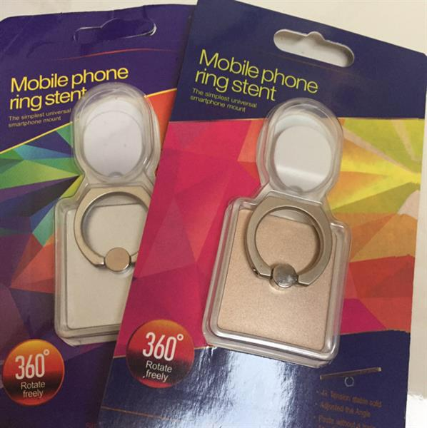 Used Mobile Phone Ring Holder...rotate Freely(2piece)..gold&silver in Dubai, UAE