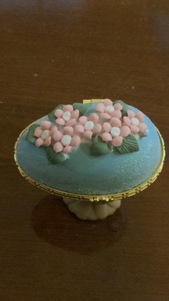 Used Vintage turquoise with flowers antique in Dubai, UAE