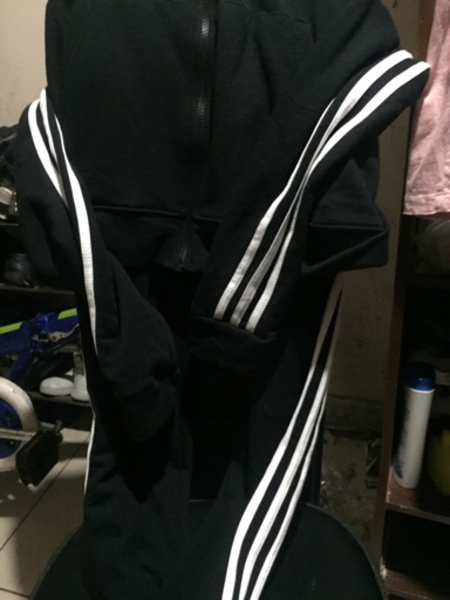 Used Adidas Trouser and jacket New A copy in Dubai, UAE