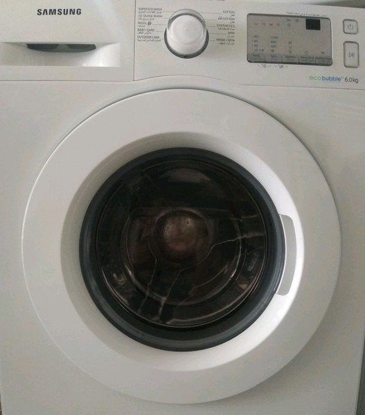 Used Samsung 6kg eco bubble washing machine s in Dubai, UAE