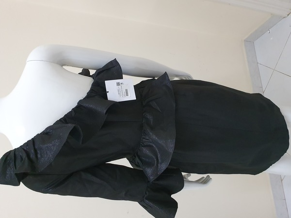 Used Black Half-shoulder dress in Dubai, UAE
