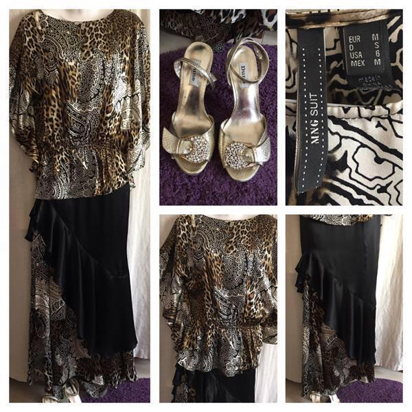 Used Dress Size M And Shoes  in Dubai, UAE
