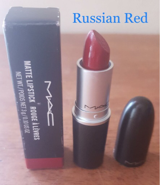Used Original Russian Red - Mac Lipstick in Dubai, UAE