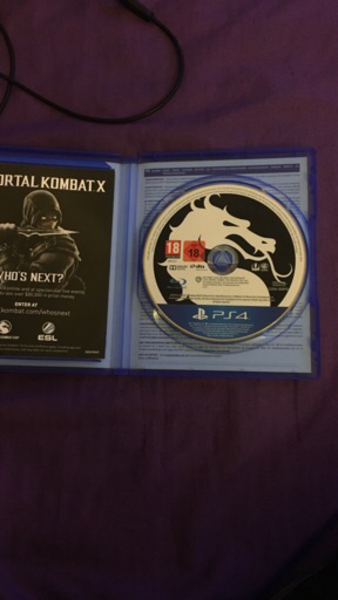 Used Mortal Kombat X in Dubai, UAE