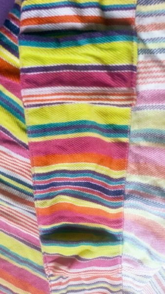 Used Colored striped curtain in Dubai, UAE
